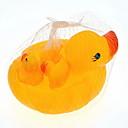Bad Spielzeug gelbe Ente Squeeze Spielzeug 1 große 3 klein