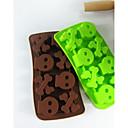 Kreative Küche Gadget / Beste Qualität / Gute Qualität L.H.S Bones Scrap Of Wood Clay Diy Silicone Cake Mold Random Color Silikon