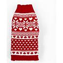 honden Truien Rood Hondenkleding Winter Streep Casual/Dagelijks / Houd Warm /