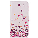 Card Holder Wallet Pattern Pink love PU Leather Hard Case For iPhone 7 7 Plus 6s 6 Plus SE 5s 5