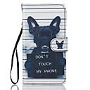 For Samsung Galaxy J5 J5(2016) Dog PU Leather Wallet
