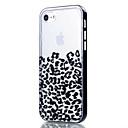 Für iPhone 7 Hülle / iPhone 6 Hülle / iPhone 5 Hülle Transparent / Muster Hülle Rückseitenabdeckung Hülle Leopardendruck Weich TPU Apple