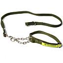 Hunde Leinen Regolabile/Einziehbar Solide Schwarz / Grün Nylon
