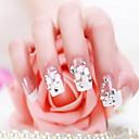 uma caixa de 24 comprimidos manicure manicure parágrafo remendo falsos noiva pregos goma prego
