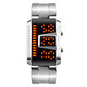 Men's Fashion Watch Wrist watch Digital LED Calendar Water Resistant/Water Proof Alloy Band Cool Black Silver Brand