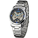 Winner Ms. Fashion Leisure Temperament Hollow Out Fully Automatic Mechanical Watches