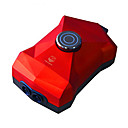 Aquarium Air Pump Energy Saving Adjustable Red 3/4W AC 220-240V