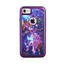 For Apple iPhone 7 7 Plus 6S 6 Plus Case Cover Cosmic Sky Pattern Painted TPU Material Plating PC Frame Combo Phone Case