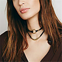 Women's Choker Necklaces Layered Necklaces Jewelry Jewelry Alloy Basic Euramerican Simple Style Classic Jewelry For Daily Casual 1pc