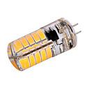 3W G4 Żarówki LED bi-pin T 40 SMD 5730 200-300 lm Ciepła biel Zimna biel Dekoracyjna AC110 AC220 V 1 sztuka