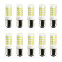 5W LED Doppel-Pin Leuchten 52 SMD 2835 400-500 lm Warmes Weiß Kühles Weiß V 10 Stück