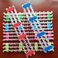z&x® Regenbogenfarben-Webmaschine Stil bunte diy handgemachten Gewebe Gummiband Armband Werkzeug (1 Stück)
