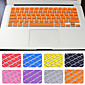 Hot Selling Solid Color Silicone Keyboard Cover with package for Macbook air/Pro/Retina 13 inch