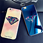 Luxurious Diamonds Colorful Blue Light Reflective Blu-ray Soft TPU Case Cover for iphone 5/5s