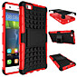 TPU+ PC Hybrid Rugged Rubber Armor stand Hard Cover Cases For Huawei Ascend P8 lite/Y550