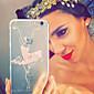 MAYCARI®Ballet Dancer Transparent TPU Back Case for iPhone 5/iphone 5s