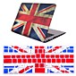 "2 in 1  Retro Flag Full Hard Plastic Cover +Keyboard Cover for MacBook Air 11"" Pro 13""/15"""