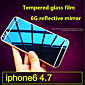 High quality Screen Protector Membrane Tempered Glass Film 9H Color Plating Explosion Proof for iPhone 6S/6