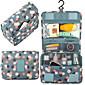 Travel Travel Bag / Luggage Organizer / Packing Organizer / Toiletry Bag Travel Storage Waterproof / Durable / Multi-function Fabric